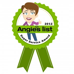 Super Service Award 2012 Scottsdale Air Conditioning