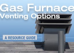 Arcadia gas furnace venting options