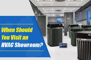 HVAC showroom