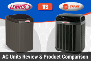 Lennox AC Unit vs Trane AC Unit